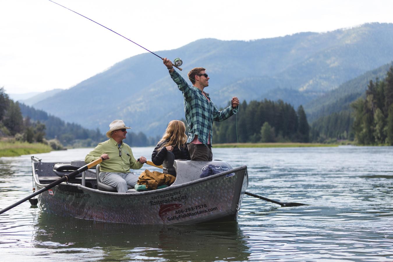 Glacier Country Fishing Trip