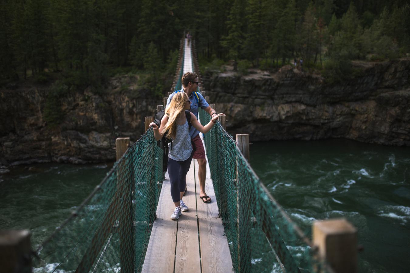 Glacier Country Kootenai Bridge