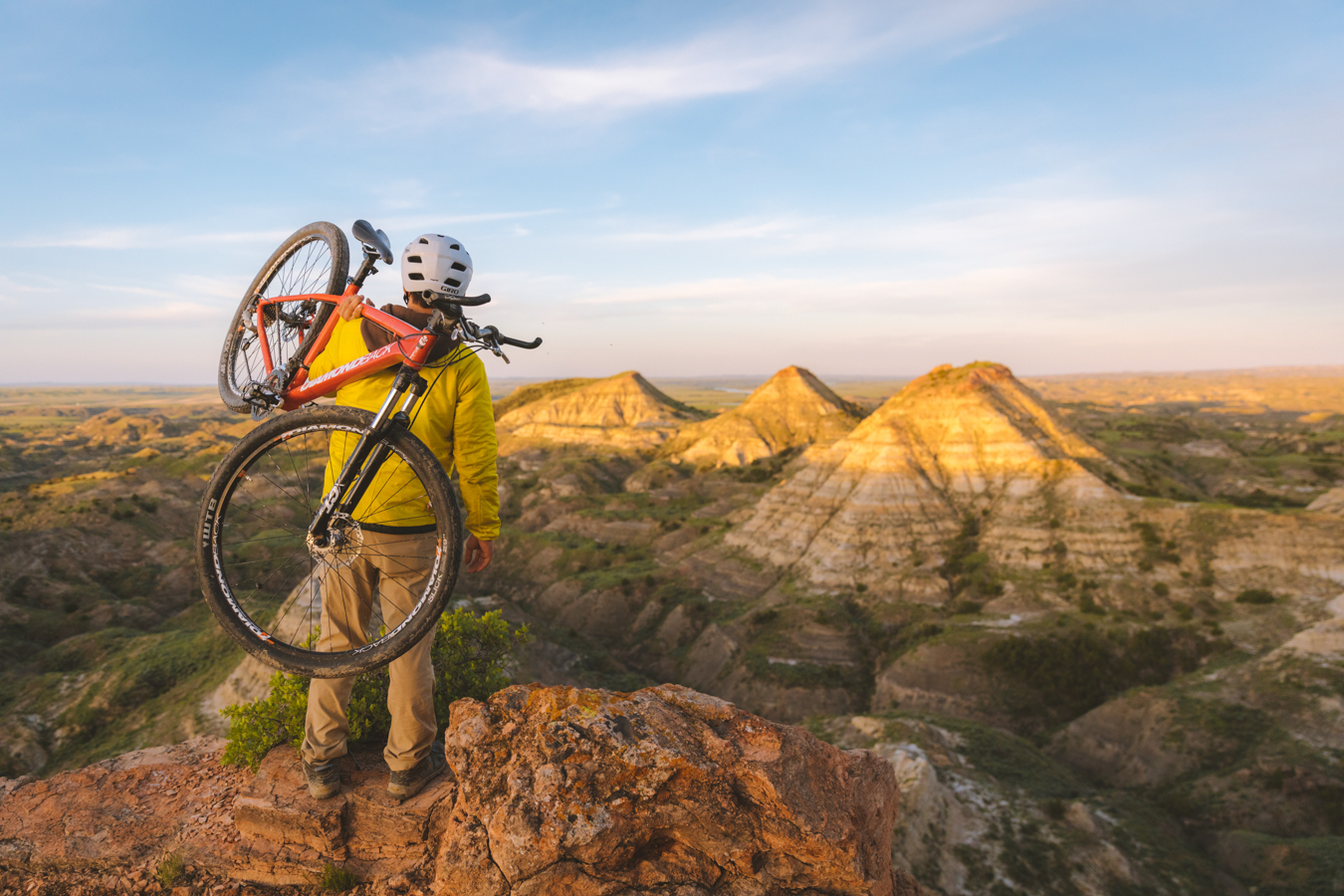 Southeast Montana Biking Terry Badlands