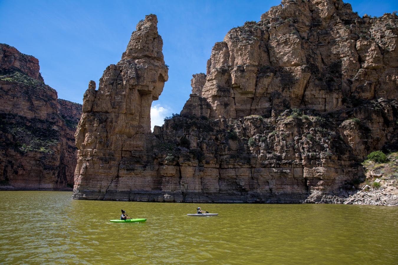 Southeast Montana Kayaking Bighorn Canyon
