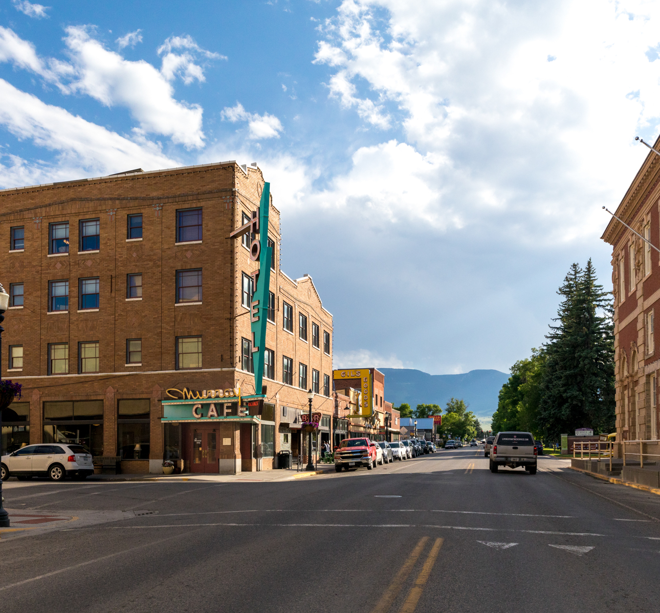 Yellowstone Country Downtown Livingston
